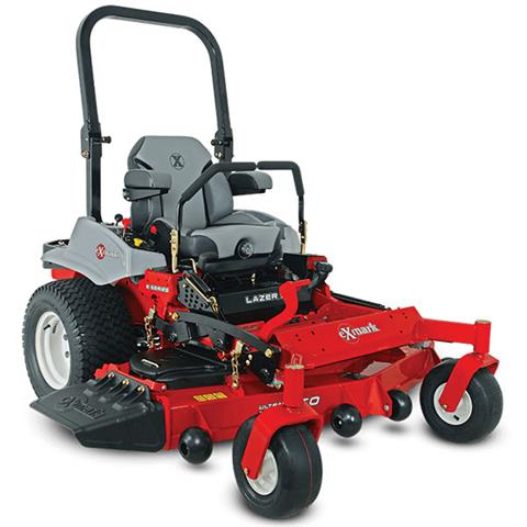 2020 Exmark Lazer Z E-Series 60 in. Suspension Seat Kohler EFI 747 cc in Mansfield, Pennsylvania