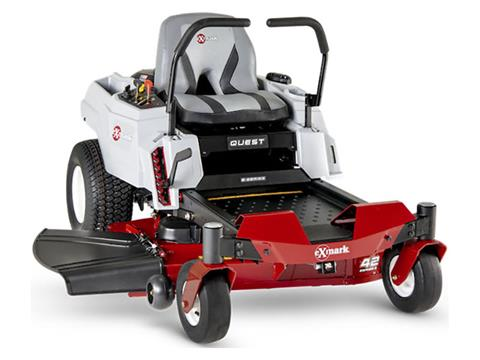 2021 Exmark Quest E-Series 42 in. Kohler 22 hp in Mansfield, Pennsylvania - Photo 1