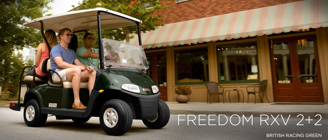2016 E-Z-Go Freedom RXV 2+2 Gas in Trevose, Pennsylvania - Photo 1