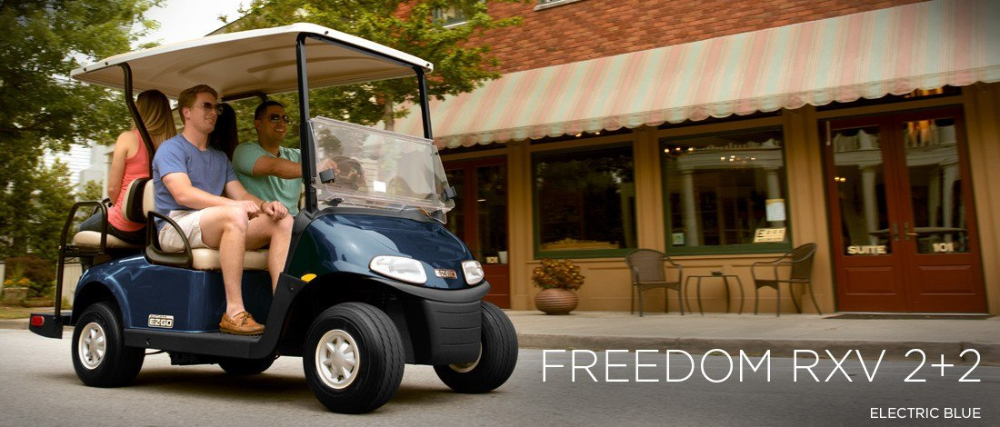 2016 E-Z-Go Freedom RXV 2+2 Gas in Trevose, Pennsylvania