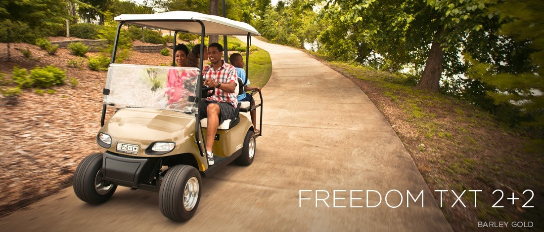 2016 E-Z-Go Freedom TXT 2+2 Gas in Trevose, Pennsylvania