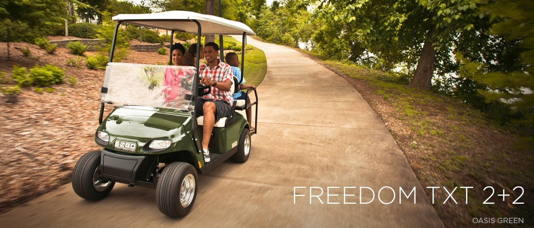 2016 E-Z-Go Freedom TXT 2+2 Gas in Caruthersville, Missouri