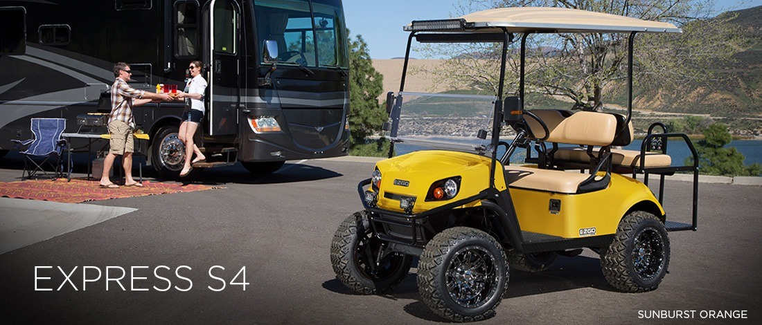 2017 E-Z-Go Express S4 Electric in Webster, Texas