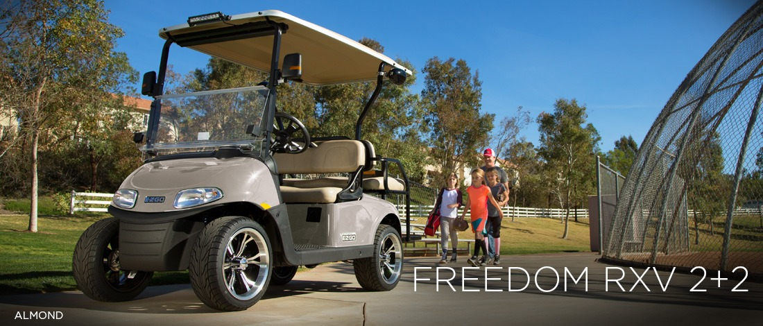 2017 E-Z-Go Personal Freedom RXV 2+2 Gas in Texas City, Texas
