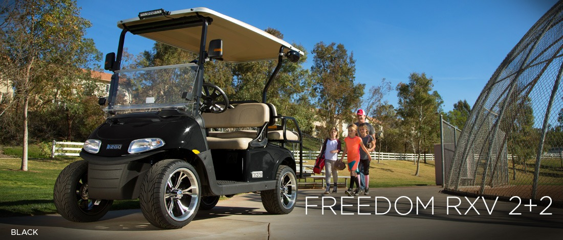 2017 E-Z-Go Personal Freedom RXV 2+2 Gas in Tifton, Georgia