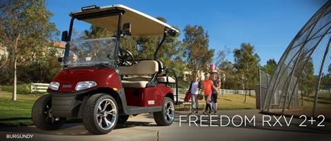 2017 E-Z-Go Freedom RXV 2+2 Gas in Webster, Texas