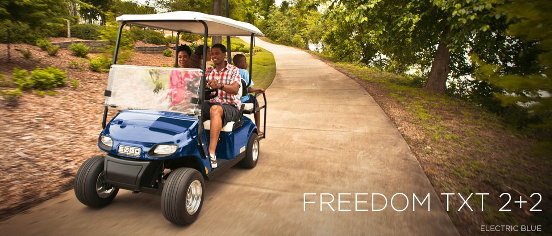 2017 E-Z-Go Personal Freedom TXT 2+2 Electric in Otsego, Minnesota