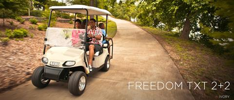 2017 E-Z-Go Freedom TXT 2+2 Electric in Texas City, Texas