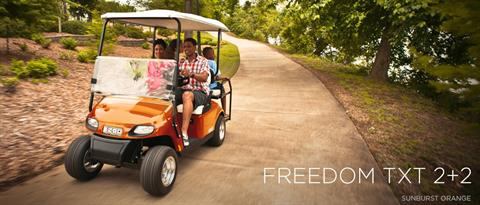 2017 E-Z-Go Personal Freedom TXT 2+2 Electric in Tifton, Georgia