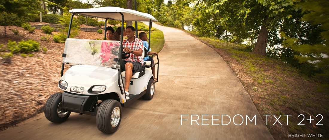 2017 E-Z-Go Personal Freedom TXT 2+2 Gas in Tifton, Georgia