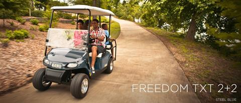 2017 E-Z-Go Freedom TXT 2+2 Gas in Webster, Texas