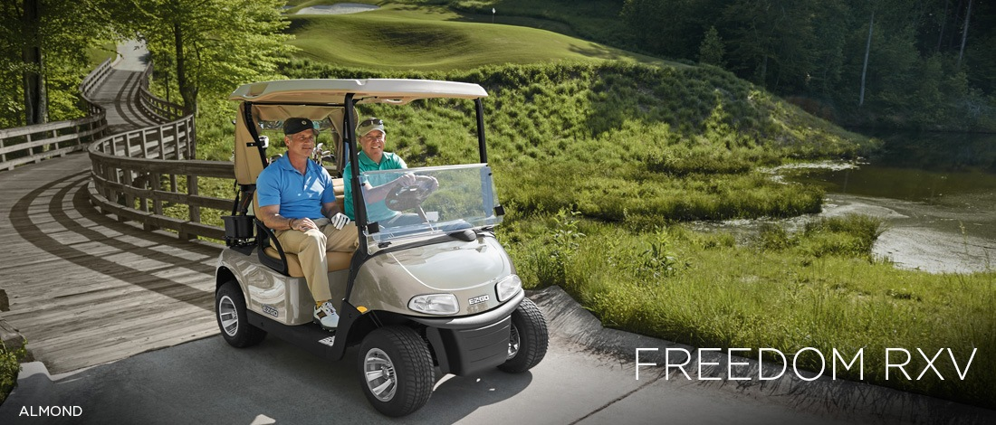 2017 E-Z-Go Golf Freedom RXV Electric in Charleston, Illinois