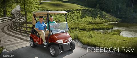 2017 E-Z-Go Golf Freedom RXV Electric in Otsego, Minnesota
