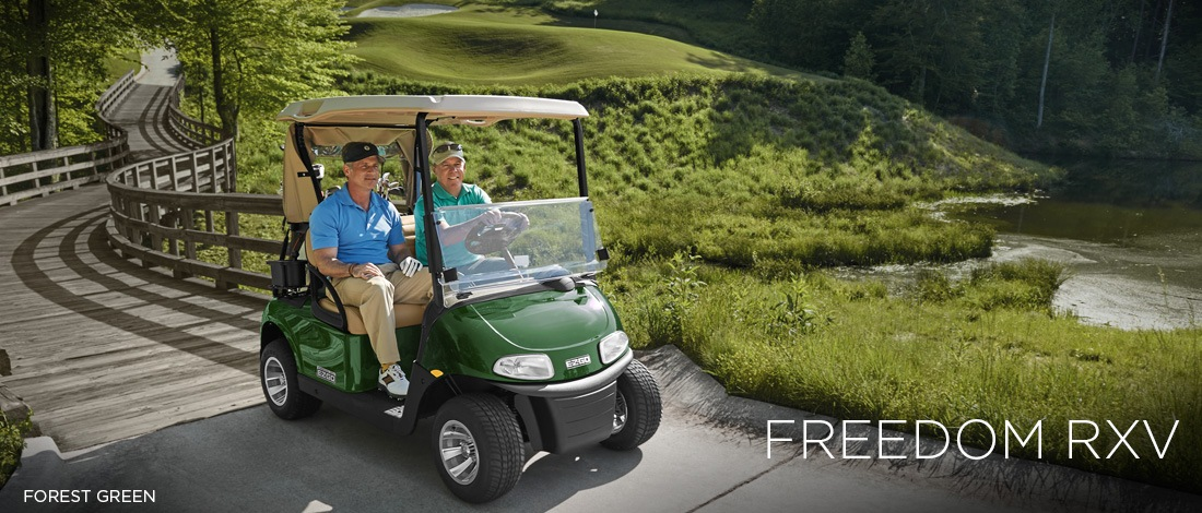 2017 E-Z-Go Golf Freedom RXV Electric in Caruthersville, Missouri