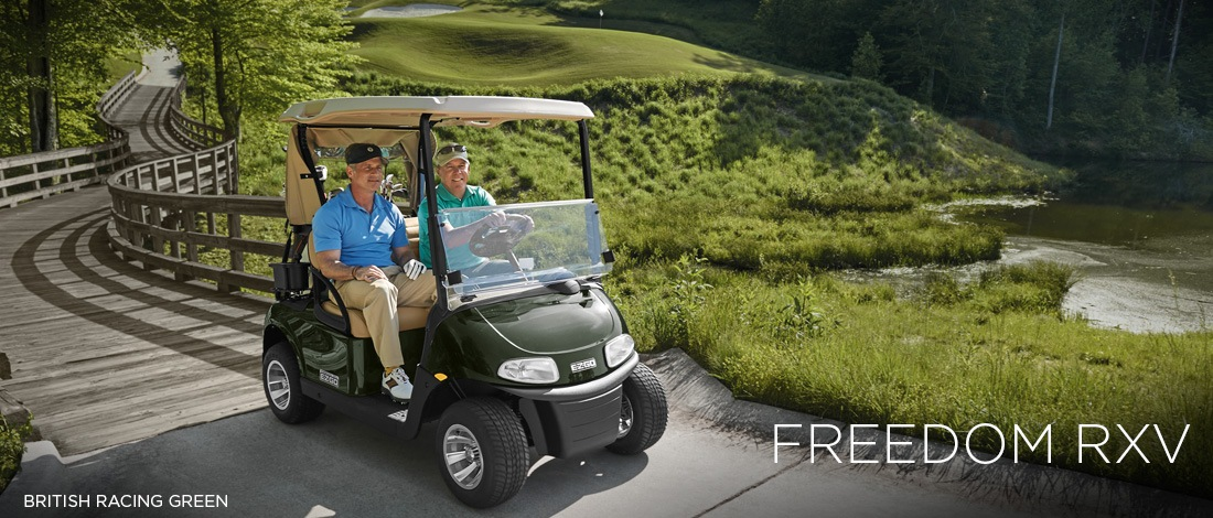 2017 E-Z-Go Golf Freedom RXV Gas in Webster, Texas