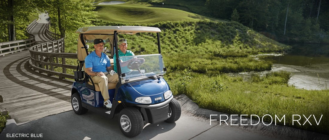 2017 E-Z-Go Golf Freedom RXV Gas in Texas City, Texas