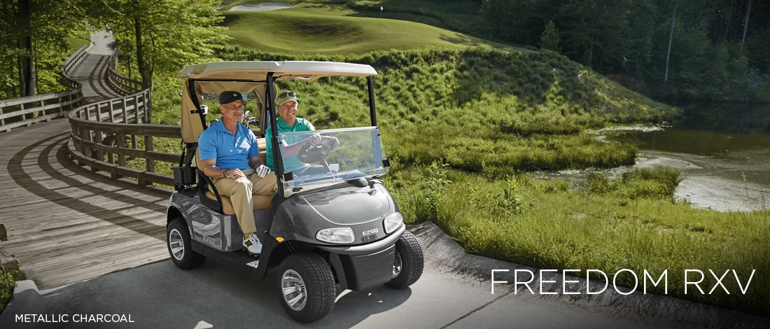 2017 E-Z-Go Golf Freedom RXV Gas in Exeter, Rhode Island