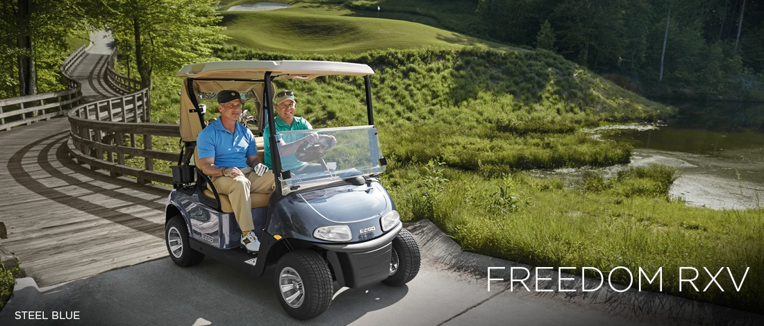 2017 E-Z-Go Golf Freedom RXV Gas in Findlay, Ohio