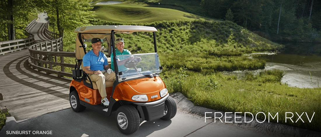 2017 E-Z-Go Golf Freedom RXV Gas in Payson, Arizona