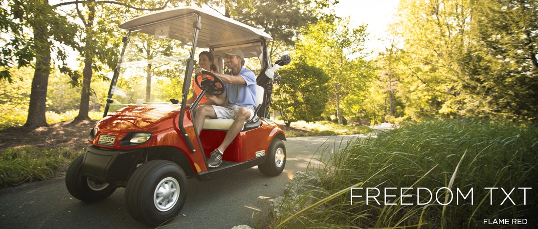 2017 E-Z-Go Golf Freedom TXT Electric in Exeter, Rhode Island