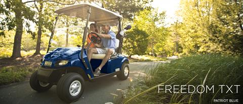 2017 E-Z-Go Golf Freedom TXT Electric in Hillsborough, New Hampshire