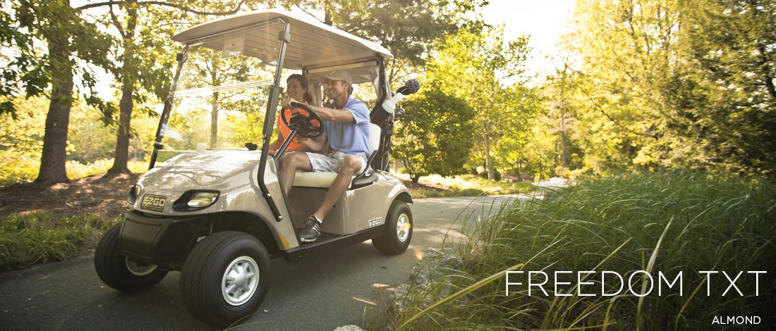 2017 E-Z-Go Golf Freedom TXT Gas in Caruthersville, Missouri