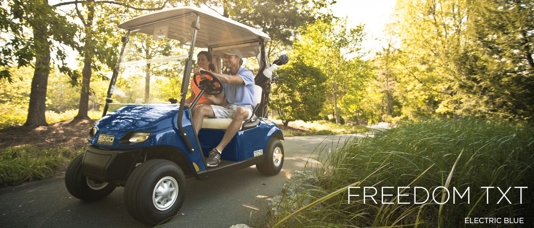 2017 E-Z-Go Golf Freedom TXT Gas in Francis Creek, Wisconsin