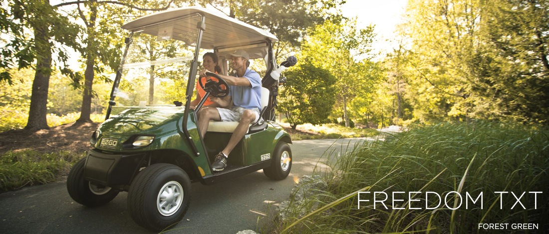 2017 E-Z-Go Golf Freedom TXT Gas in Pikeville, Kentucky