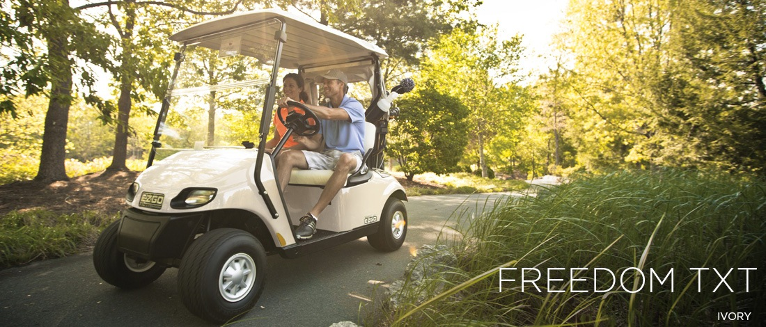 2017 E-Z-Go Golf Freedom TXT Gas in Jasper, Georgia