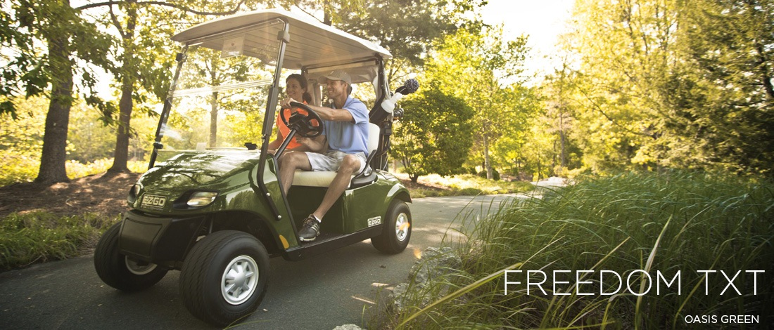 2017 E-Z-Go Golf Freedom TXT Gas in Texas City, Texas