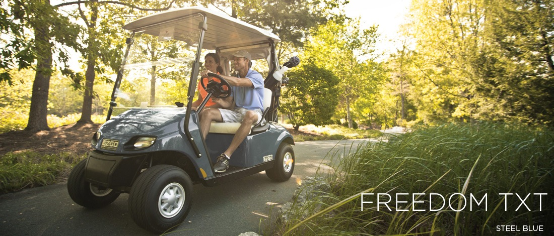 2017 E-Z-Go Golf Freedom TXT Gas in Franklin, North Carolina