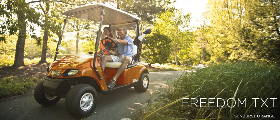 2017 E-Z-Go Golf Freedom TXT Gas in Hillsborough, New Hampshire