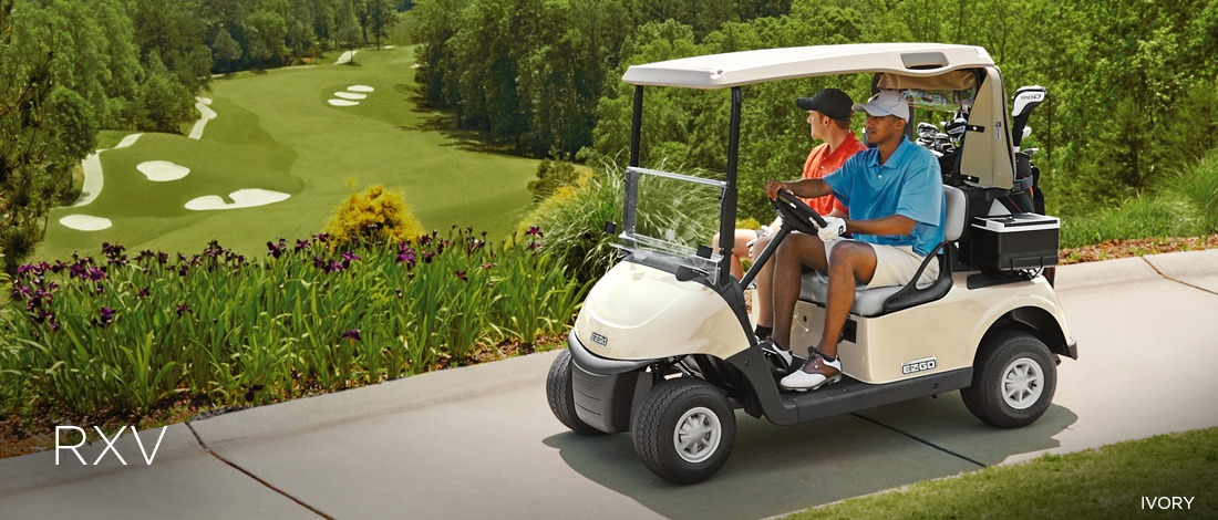 2017 E-Z-Go Golf RXV Electric in Union Grove, Wisconsin