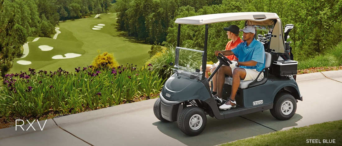 2017 E-Z-Go Golf RXV Electric in Texas City, Texas