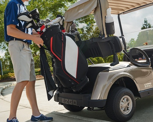 2017 E-Z-Go Golf RXV Gas in Exeter, Rhode Island