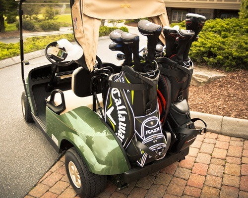 2017 E-Z-Go Golf TXT Electric in Hillsborough, New Hampshire