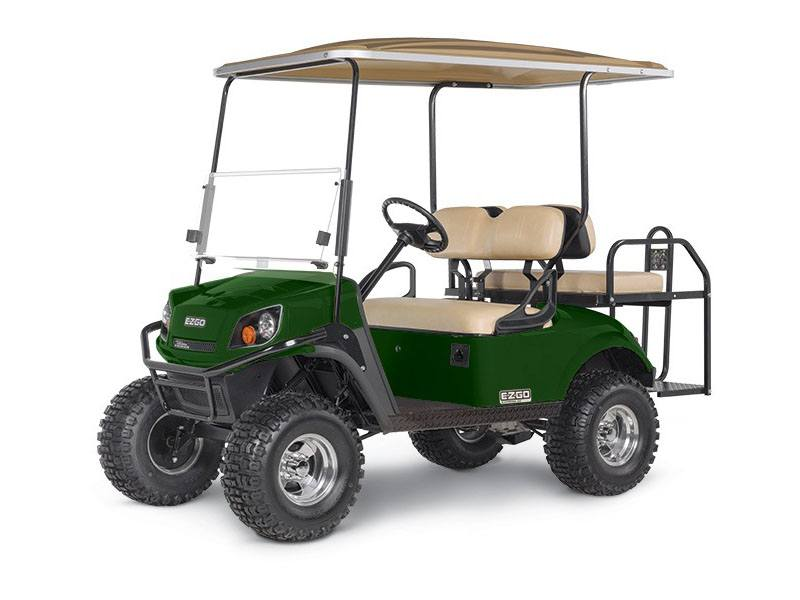 New 2018 e z go express s4 gas golf carts in covington ga for Yamaha golf cart gas vs electric