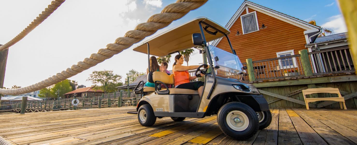 2018 E-Z-Go Freedom TXT Shuttle 2+2 Gas in Southampton, New York