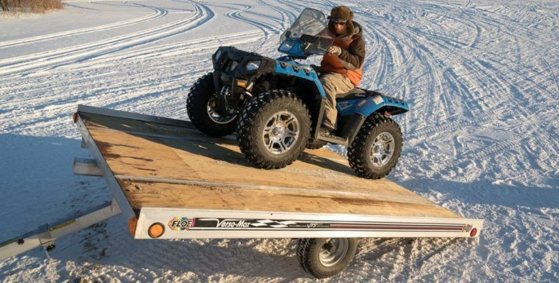 2019 FLOE INTERNATIONAL 12 ft. Versa-Max Tilt (Single Axle, No Brakes) in Trego, Wisconsin