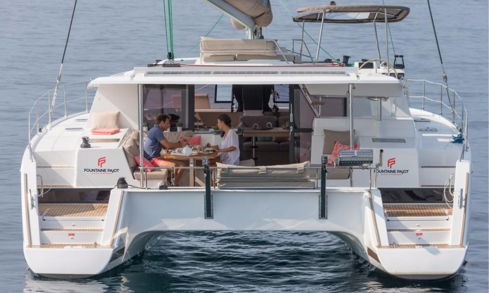 Fountaine Pajot Helia 44 Evolution Stern