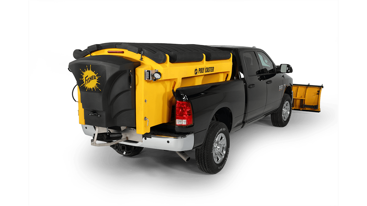 2017 Fisher Plows POLY-CASTER 7' 1.5 cu yd in Erie, Pennsylvania