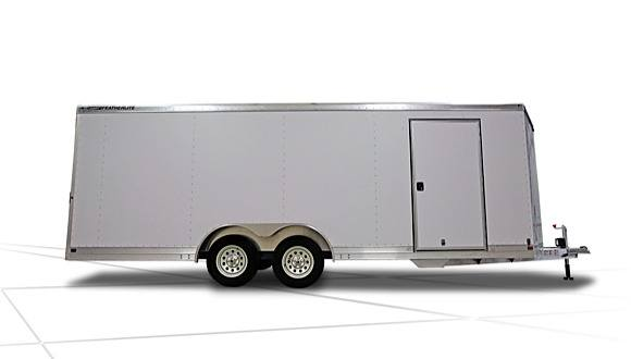2017 Featherlite Trailers 1611 Bumper Pull Car / Utility Trailer (14 x 8.5 ft.) in Roca, Nebraska
