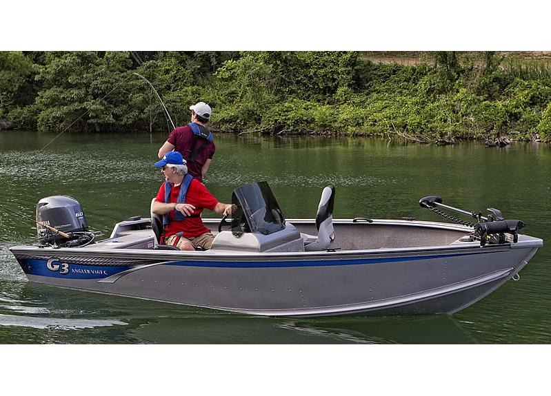2016 G3 Angler V167 C in Bryant, Arkansas