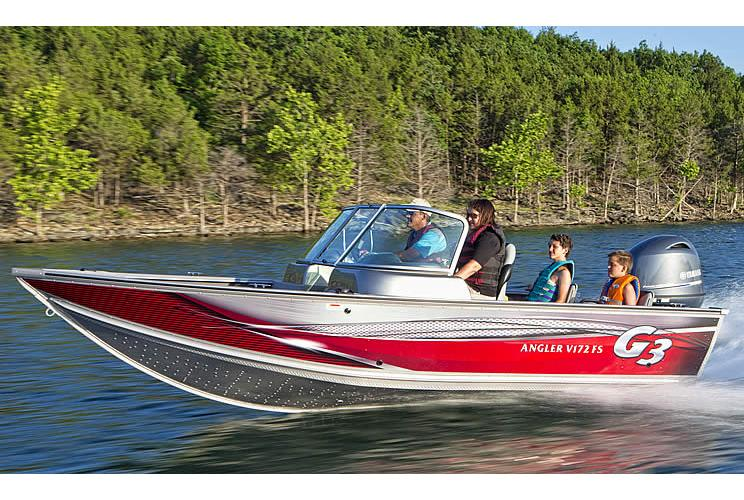 2016 G3 Angler V172 FS in Rapid City, South Dakota - Photo 9