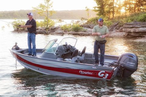 2017 G3 Angler V17 SF in Hutchinson, Minnesota