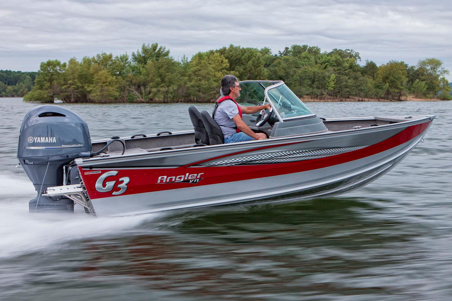 2018 G3 Angler V17 SF in Hutchinson, Minnesota