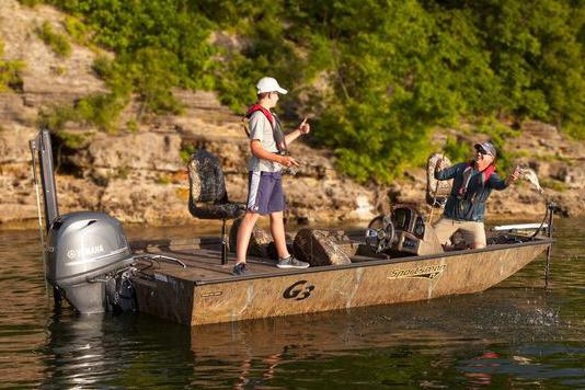 New 2018 G3 Sportsman 17 Camo Power Boats Outboard in