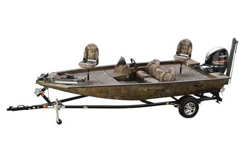 2019 G3 Sportsman 1710 PFX Camo in Greenwood, Mississippi