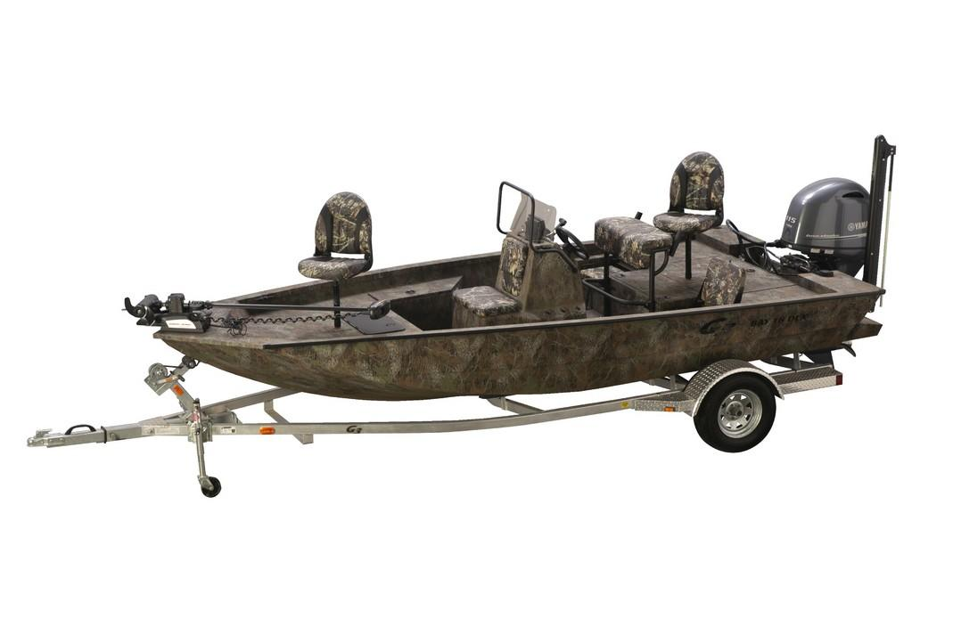 2019 G3 Bay 18 DLX Camo in Lake City, Florida