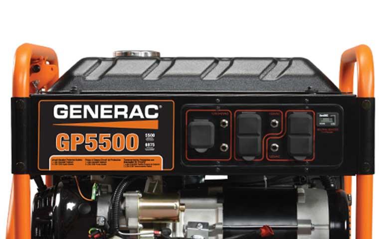 2015 Generac GP5500 in Athens, Ohio